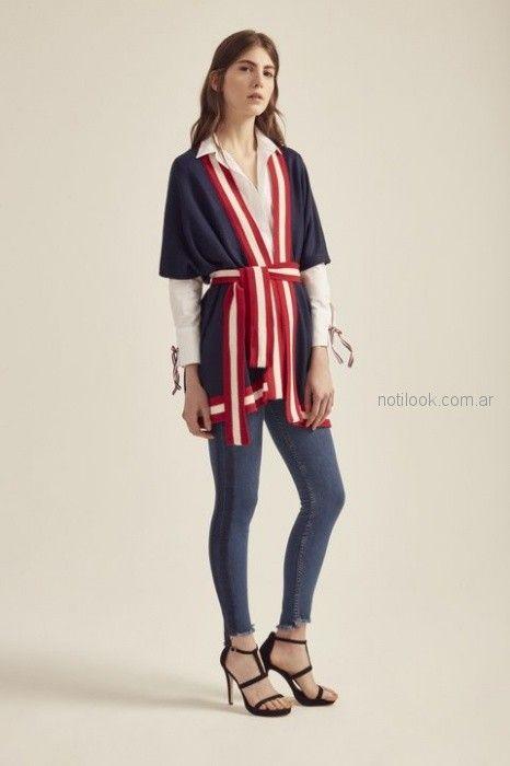 kimono con lazo Paris by Flor Monis verano 2019