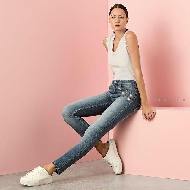 look con jeans para señoras cacharel argentina verano 2019