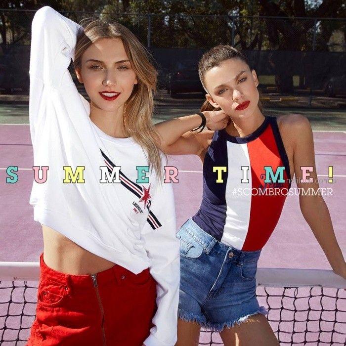 moda casual juvenil mujer Scombro Jeans verano 2019