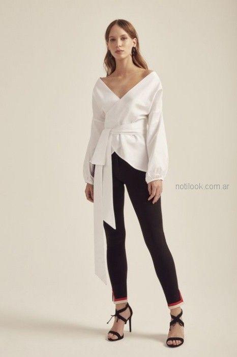 pantalon de vestir chupin mujer Paris by Flor Monis verano 2019