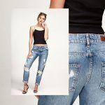 pantalon rustico recto Adicata jeans verano 2019