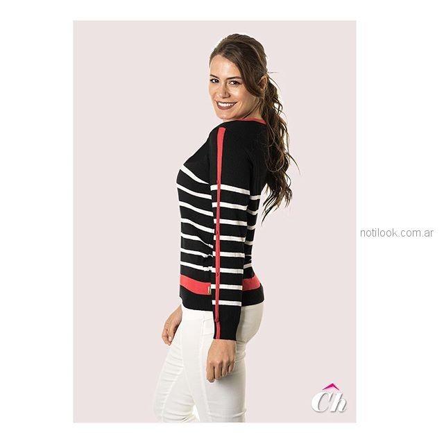 sweater de hilo para señoras chatelet verano 2019