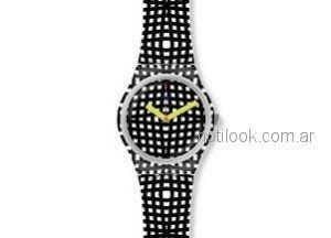 Relojes mujer Swatch blanco y negro verano 2019