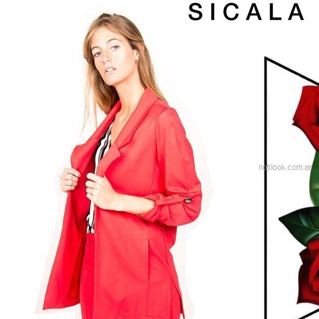 abrigo liviano para el verano Sicala verano 2019