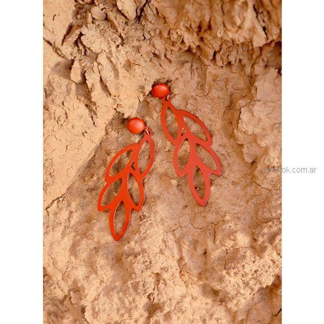 aros naranjas Isadora accesorios verano 2019