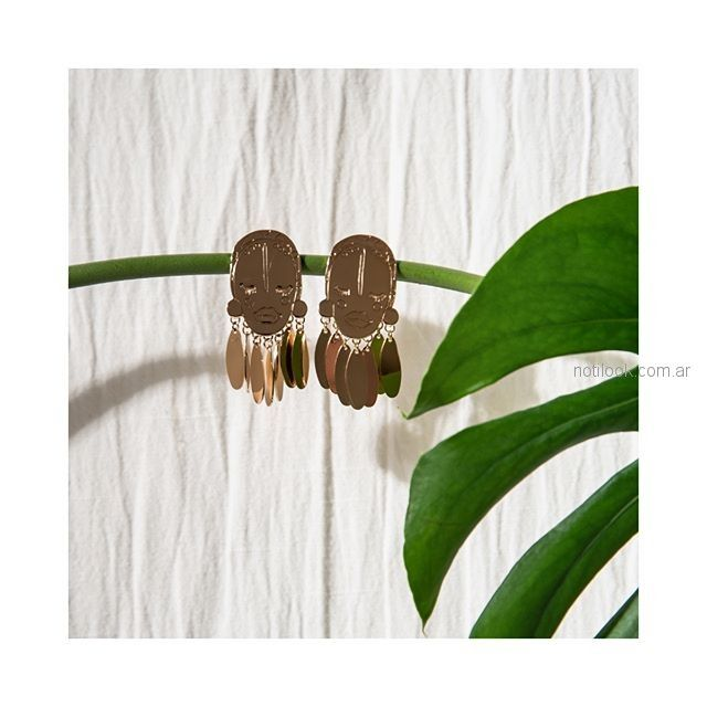 aros tematica tropical Isadora accesorios verano 2019