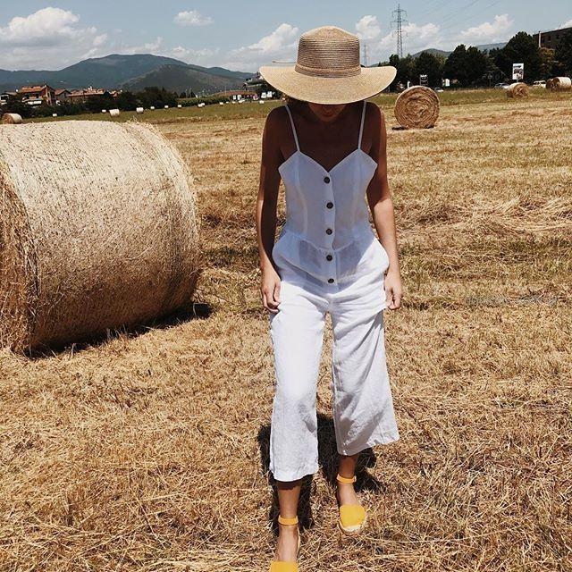 blusa de lino verano 2019 - ropa mujer Piccola