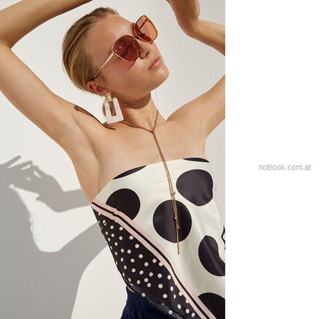 cadenas aros y pañuelos Isadora accesorios verano 2019