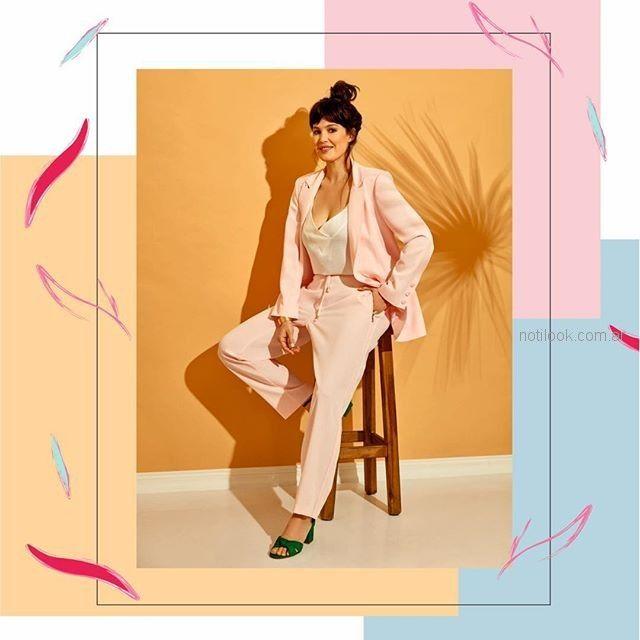 conjunto traje bazer pantalon MAMY BLUE - Moda para señoras verano 2019