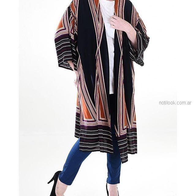 kimono MAMY BLUE - Moda para señoras verano 2019