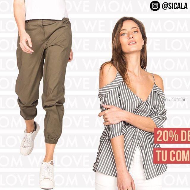 moda casual mujer Sicala verano 2019