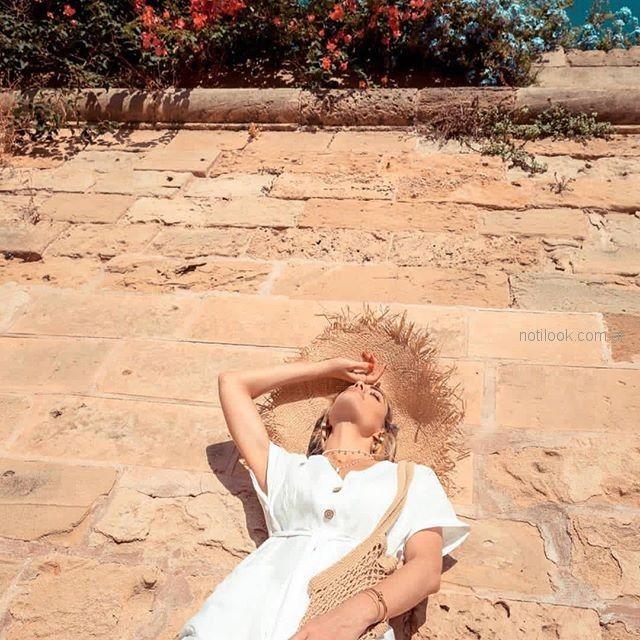 moda mujer lino verano 2019 - ropa mujer Piccola