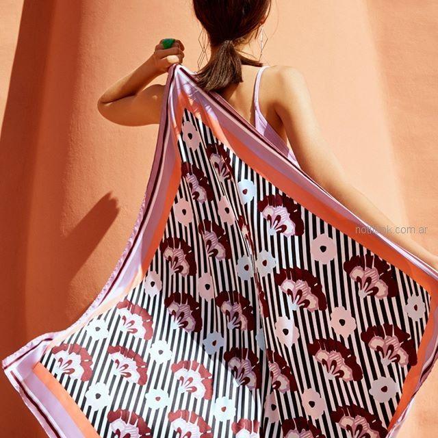 pañuelos estampados Isadora accesorios verano 2019