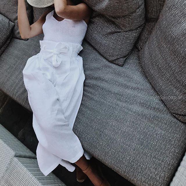 palazzo de lino verano 2019 - ropa mujer Piccola