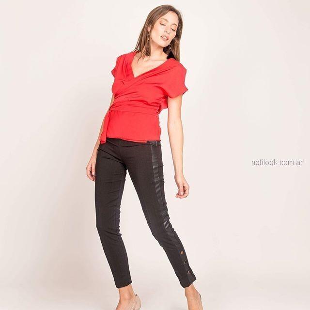 pantalon chupin negro Sicala verano 2019