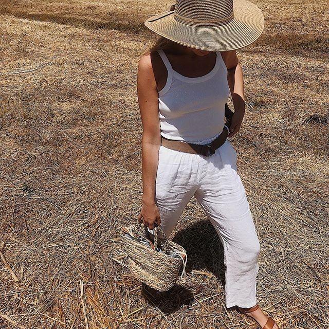pantalon de lino verano 2019 - ropa mujer Piccola