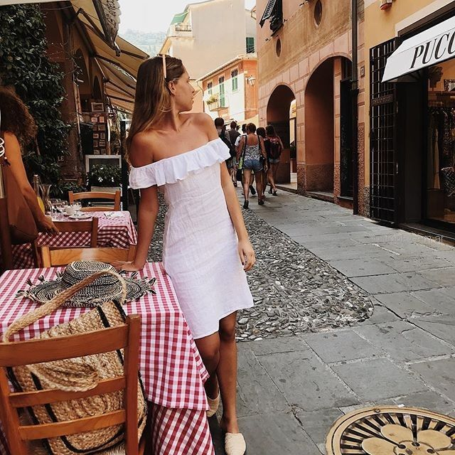vestido elegante de lino verano 2019 - Piccola
