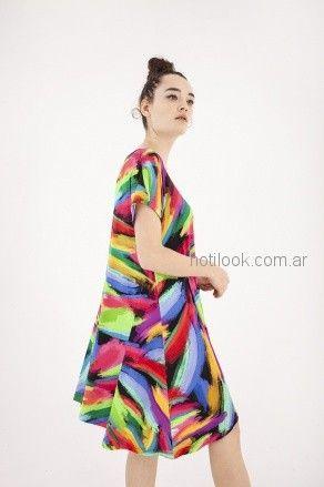 vestidos coloridos para el dia Benito Fernandez verano 2019
