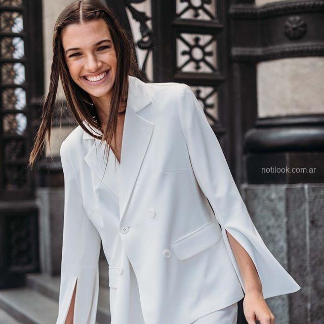 blazer blanco mujer Naima verano 2019