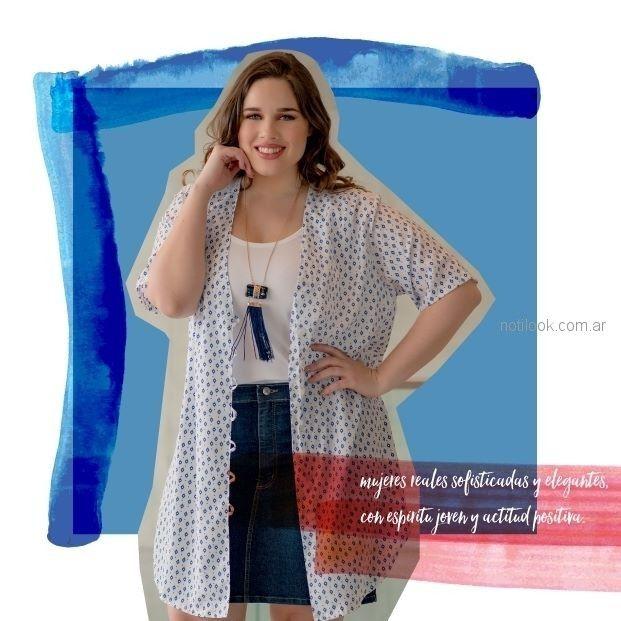 camisas frescas mujer talles grandes portofem verano 2019