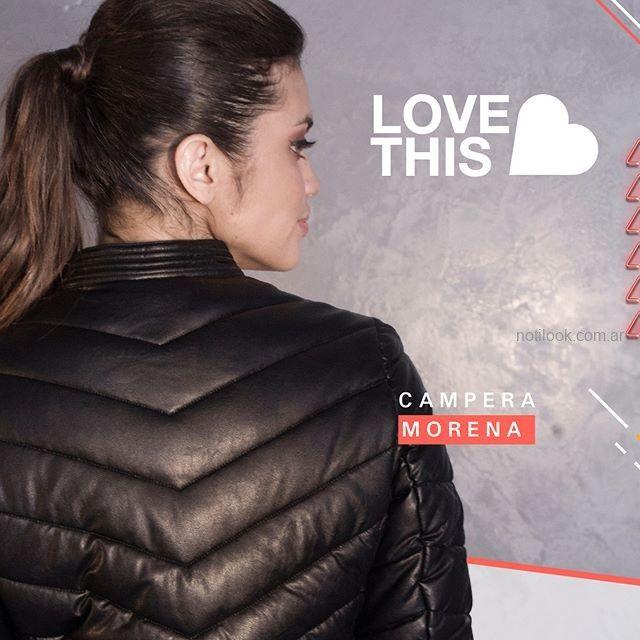 Campera abrigada juvenil invierno 2019 - Love This