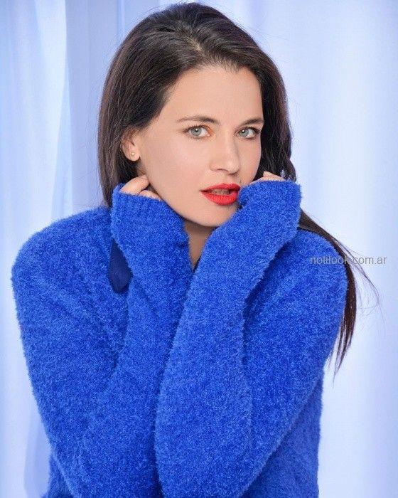 Moravia Jeans - Sweater azul invierno 2019