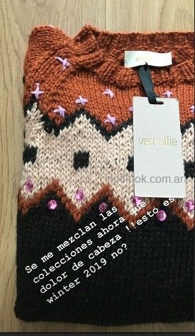 Sweater Vero Alfie invierno 2019