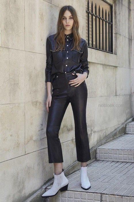 45055a0ba camisa y patnalon cuero invierno 2019 – UMA – Moda Mujer Argentina