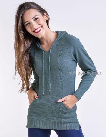 sweater con capucha Mauro sergio tejidos otoño invierno 2019