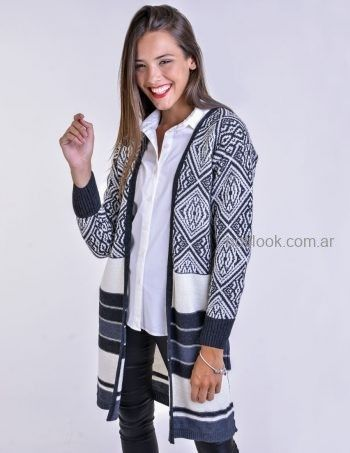 tapado estampado de lana Mauro sergio tejidos otoño invierno 2019