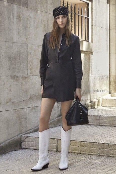 5800a5d03 total look en cuero invierno 2019 – UMA – Moda Mujer Argentina