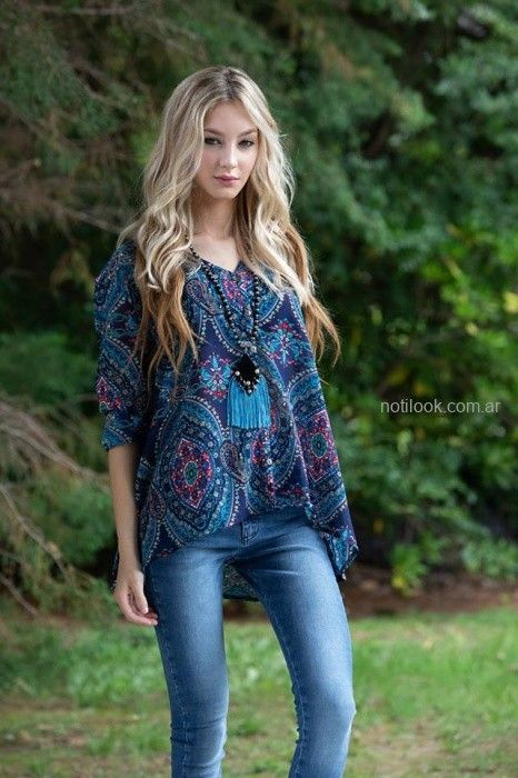blusa casual boho chic sophya otoño invierno 2019