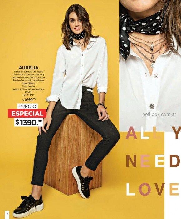 camisa blanca mujer Martina di trento invierno 2019 137da79b792