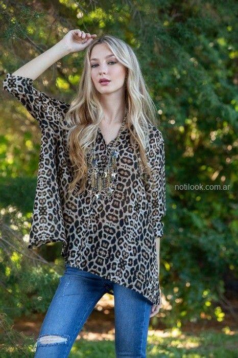 camisola animal print sophya otoño invierno 2019