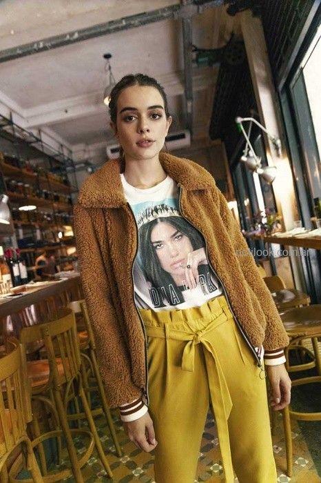 22459b415 campera peluche mujer Nucleo otoño invierno 2019 – Moda Mujer Argentina