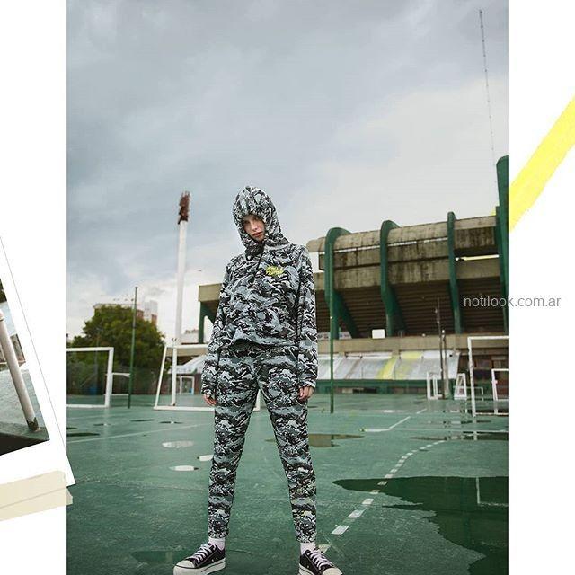 conjunto camuflado para adolescentes invierno 2019 by Muaa