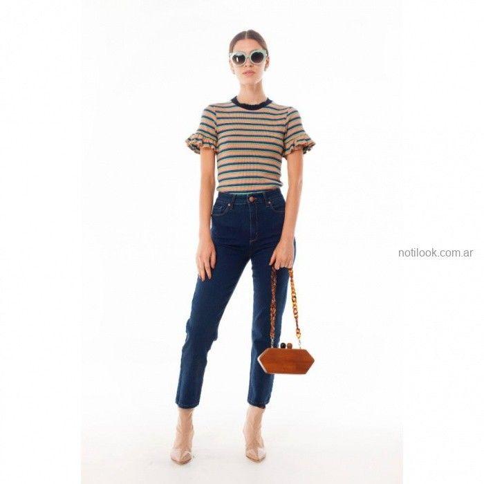 Outfits juveniles con jeans