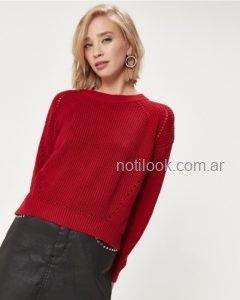 minifalda con sweater invierno 2019 - Desiderata
