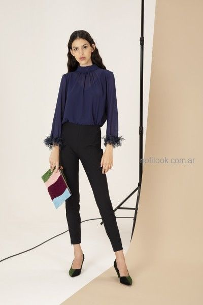 – Pantalon De Negro 2019 Clara Vestir Ibarguren Moda Chupin Invierno n0O8kwP