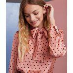 blusa de seda juvenil vero alfie invierno 2019