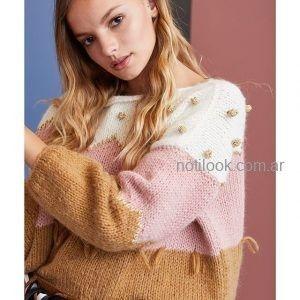 buzo de lana tejidos juveniles vero alfie invierno 2019
