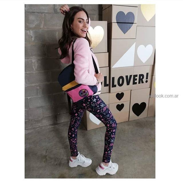 calzas estampadas para adolescentes nvierno 2019 Combustion love