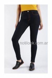 jeans chupin oscuro invierno 2019 - Nahana