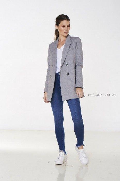 jeans con blazer mujer city jenifer argentina invierno 2019