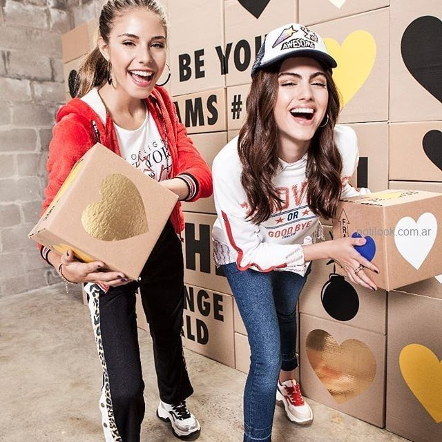 Outfits Adolescentes Invierno 2019 Girl Power Combustion Love Notilook Moda Argentina