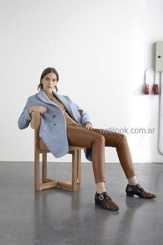 pantalon engomado para señoras carmela achaval otoño invierno 2019