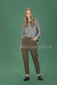 pantalon verde militar
