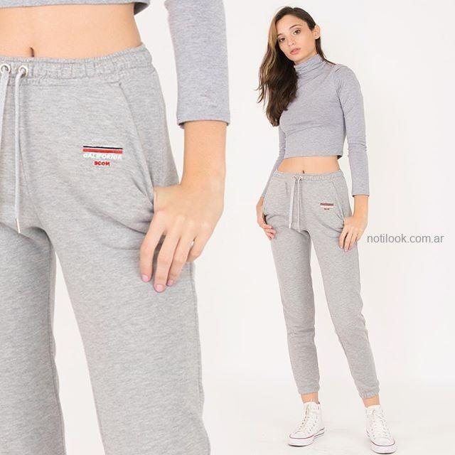 babucha algodon sport juvenil mujer scombro jeans invierno 2019