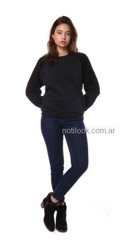 buzo basico aldodon juvenil mujer vov jeans invierno 2019