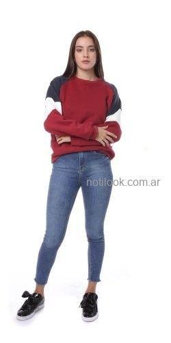 buzo frisa mujer vov jeans invierno 2019